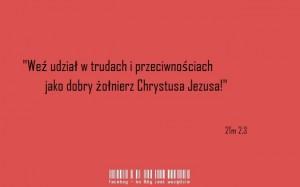 Żołnierz Chrystusa Jezusa