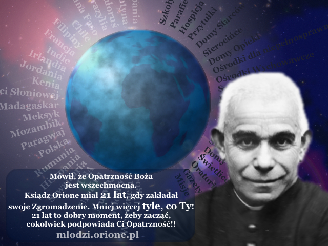 """Planeta ziemia """"objęta"""" Małym Dziełem Boskiej Opatrzności"""