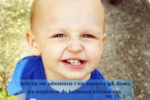 Bądźmy jak dzieci :)