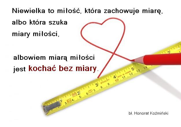 Kochaj bez miary
